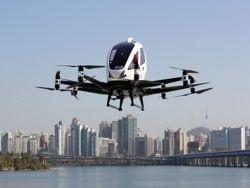 Китайцы разработали и тестируют беспилотное аэротакси