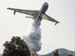 На юге Турции разбился пожарный самолет «Бериев-200»