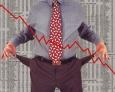 Финансовым рынкам грозит обвал на на десятки процентов