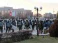 Массовые беспорядки в Казахстане на станции Шетпе. Полиция применила оружие