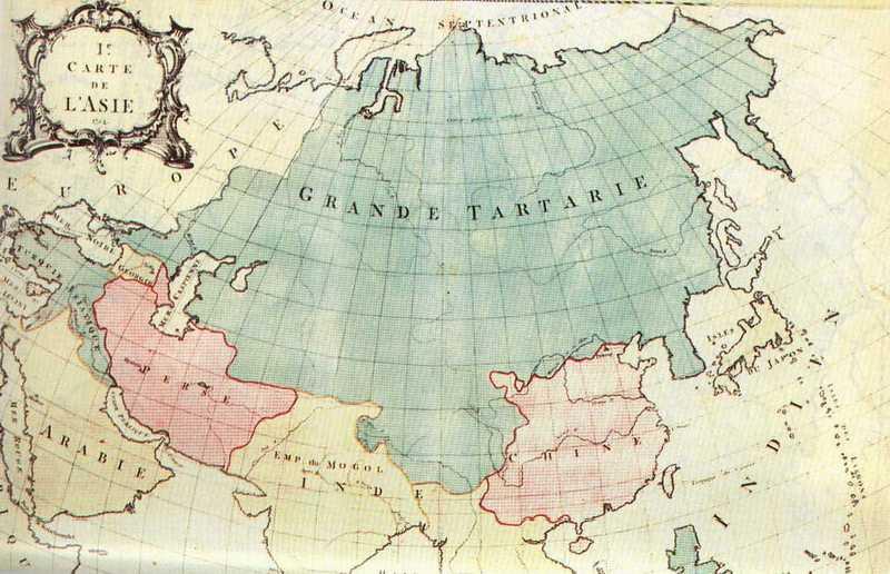 карта тартарии большой разрешении
